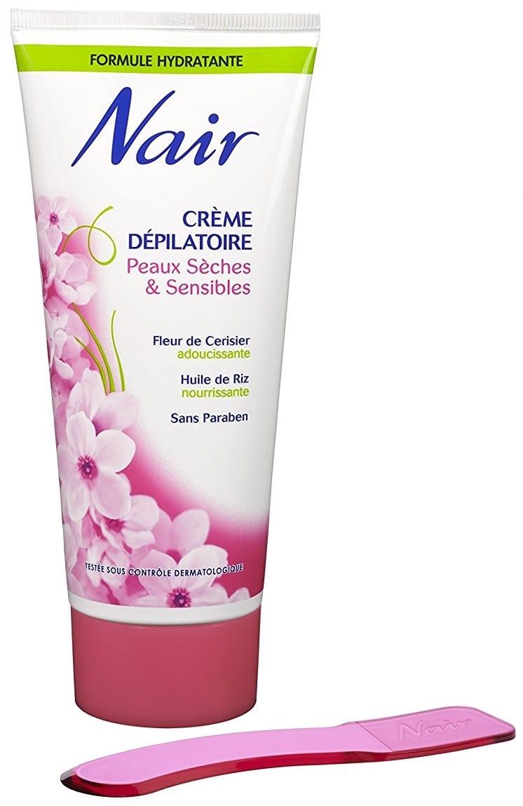 Crème dépilatoire femme Nair