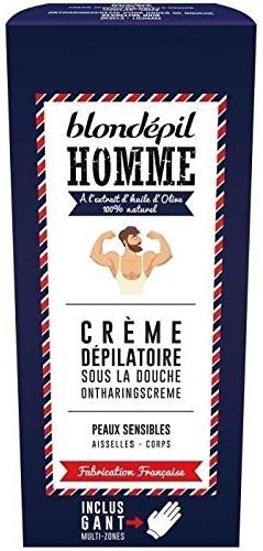 Crème dépilatoire homme Blondépil