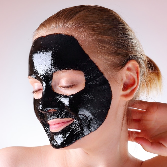 Enlever points noirs masque black mask