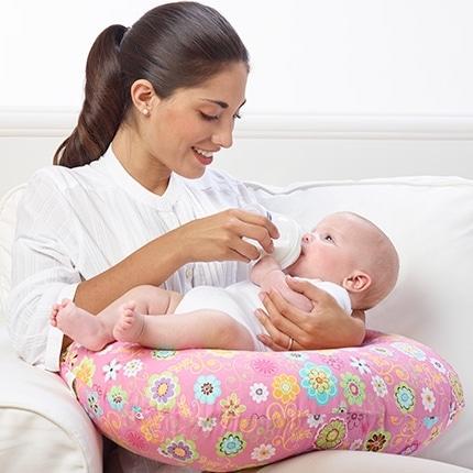 Position coussin allaitement