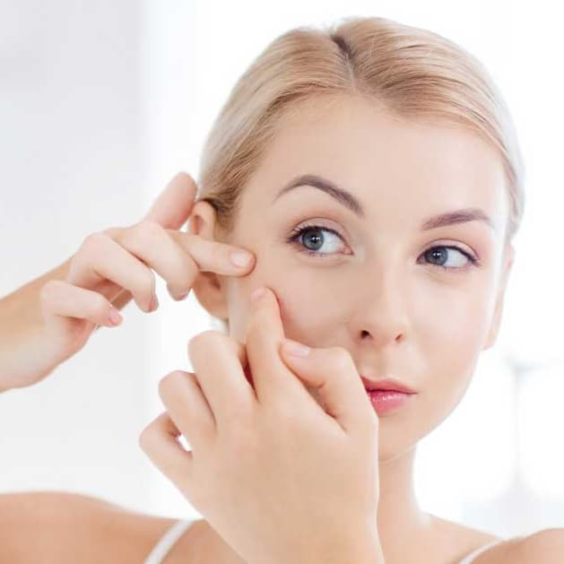 Remèdes acné adulte