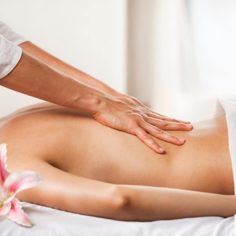Technique massage dos