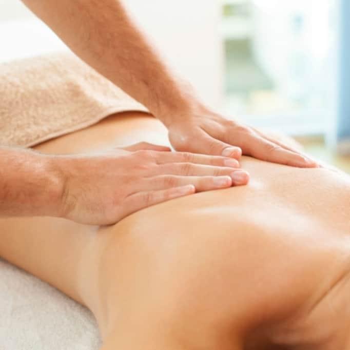 Techniques massage dos