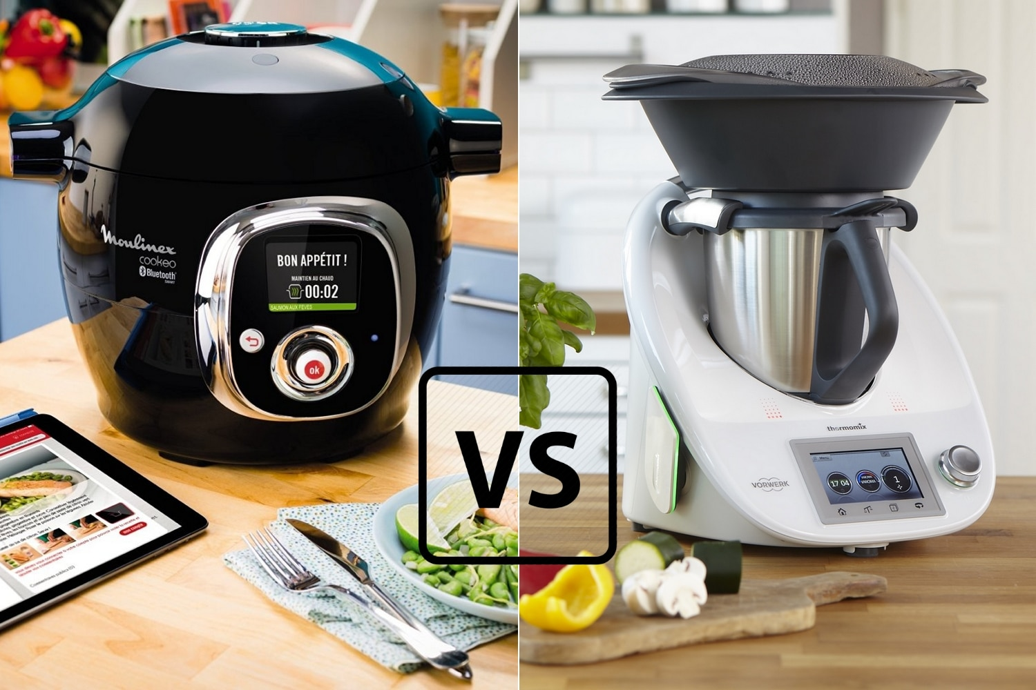 moulinex cuisine companion vs thermomix tm5 choquant. Black Bedroom Furniture Sets. Home Design Ideas