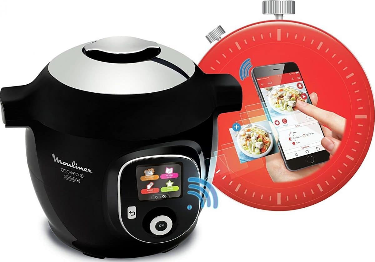 Multicuiseur Moulinex Cookeo + Connect YY2942FB