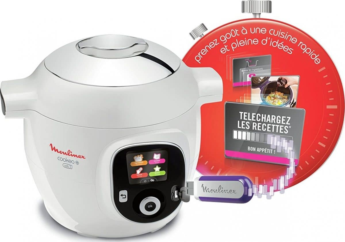 Multicuiseur Moulinex Cookeo + USB YY2943FB