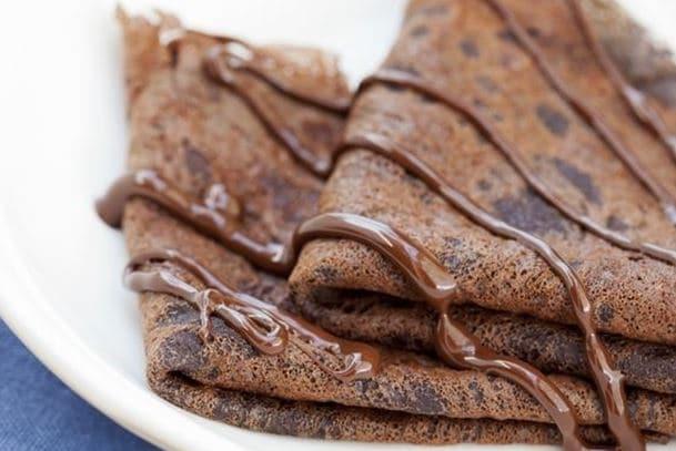 Recette crêpe sucrée au chocolat