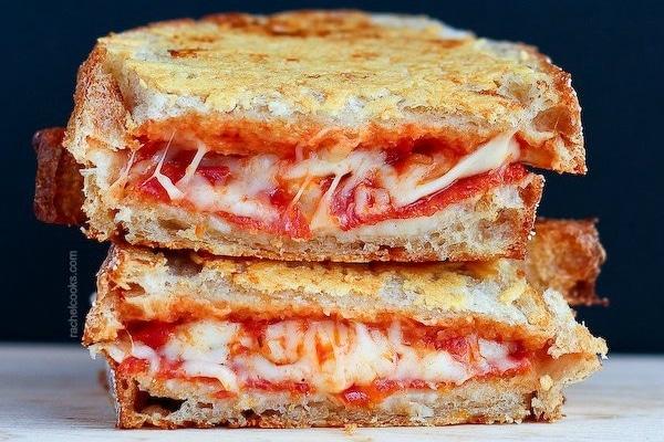 Recette croque monsieur pizza pepperoni