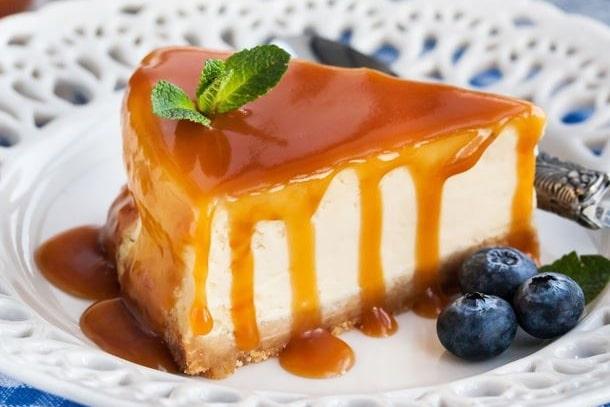 Recette dessert cookeo cheesecake caramel beurre salé