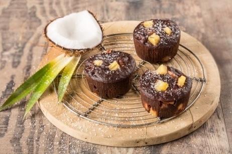 Recette dessert cookeo moelleux chocolat ananas noix de coco