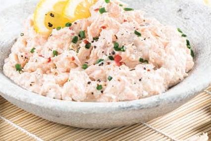 Recette entrée avec autocuiseur Rillettes de saumon au wasabi