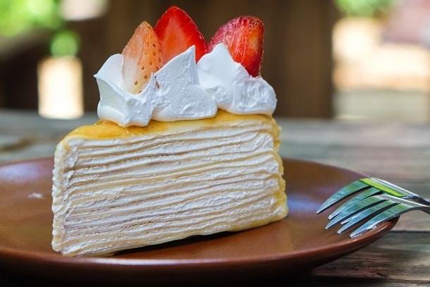Recette gâteau de crêpes à la fraise