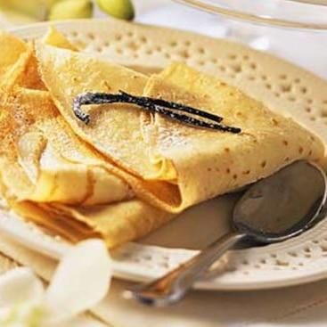 Recette pâte à crêpe vanillée