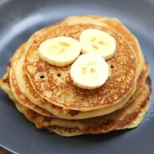 Recette pancake banane