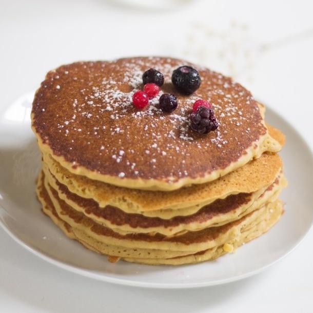 Recette pancake healthy vegan