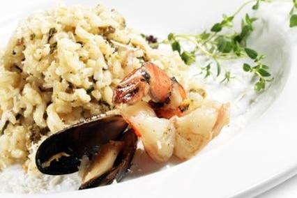 Recette plat avec autocuiseur Risotto aux fruits de mer