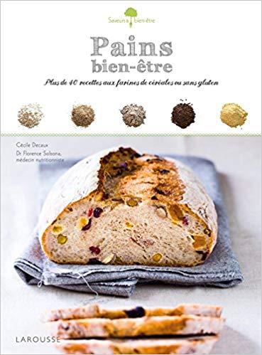 Livre recette pain Pains bien être