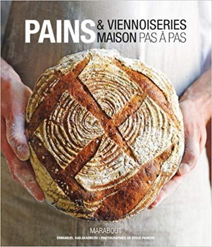 Livre recette pain Pains et viennoiseries maison pas à pas