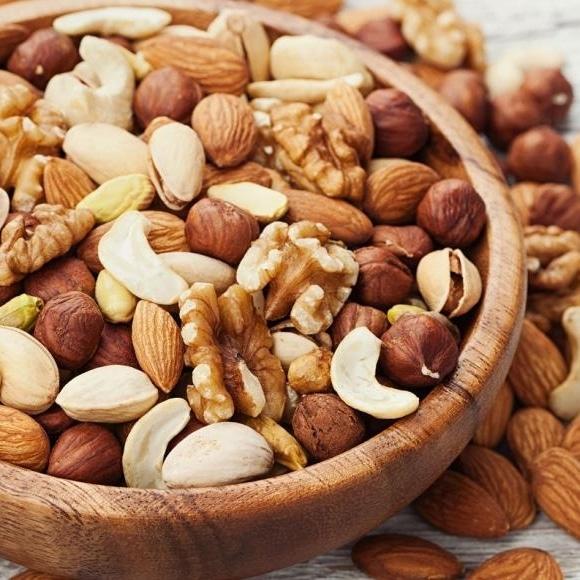 Aliments riches Oméga 3 fruits à coque