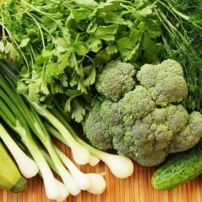 Aliments riches Oméga 3 légumes verts