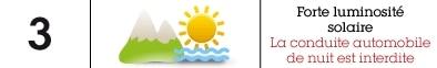 Catégories lunettes soleil indice 3