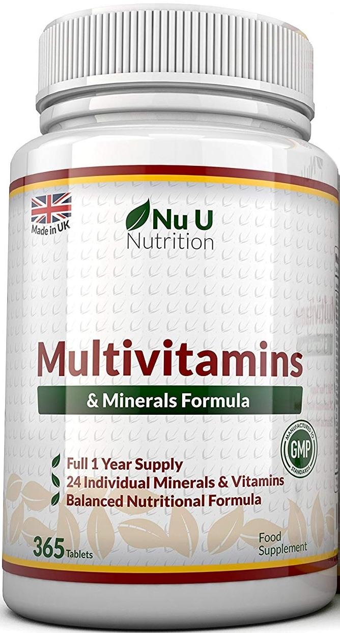 Complément multivitamines minéraux Nu U Nutrition