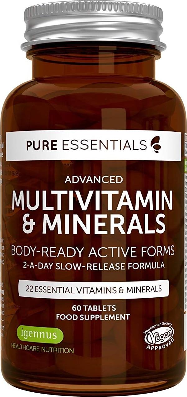 Complément multivitamines minéraux Pure Essentials