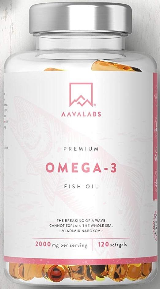 Compléments Oméga 3 Avaa Labs