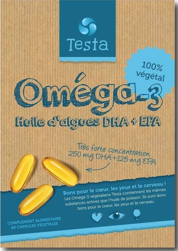 Compléments Oméga 3 Testa