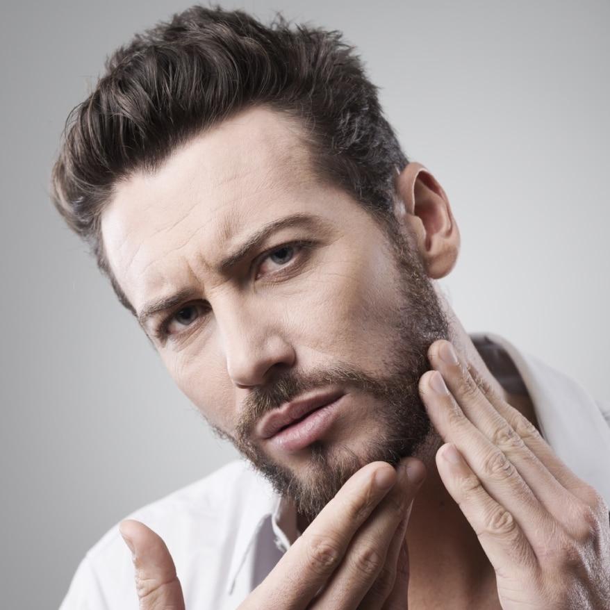 Huile coco barbe