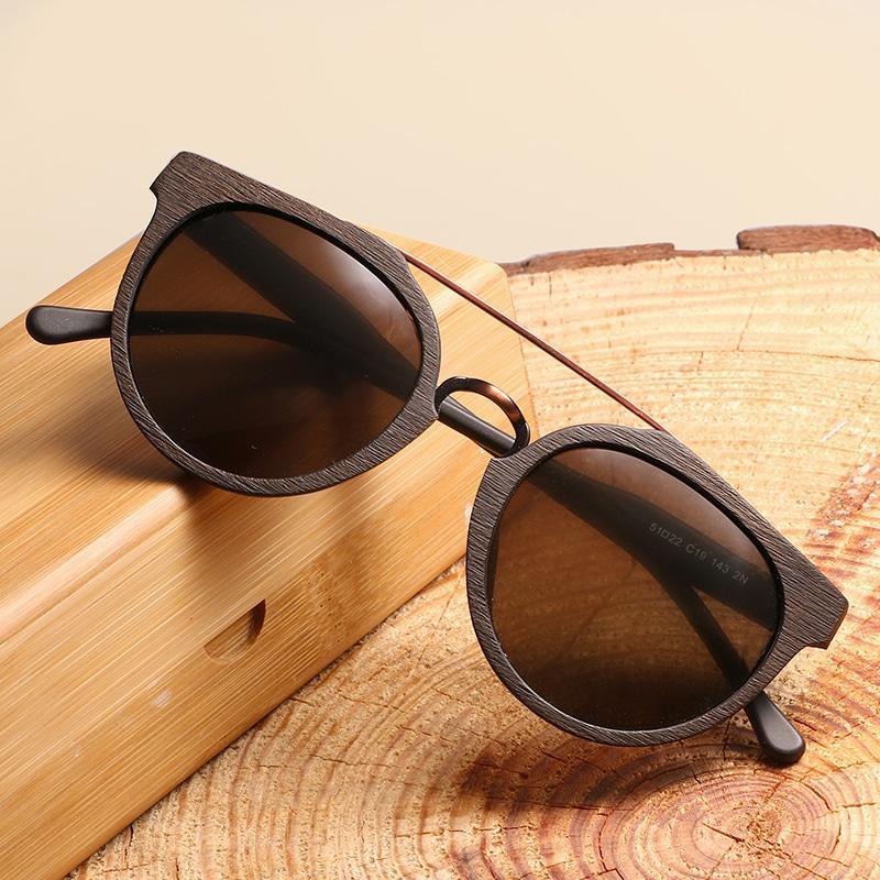 Meilleures lunettes soleil bois