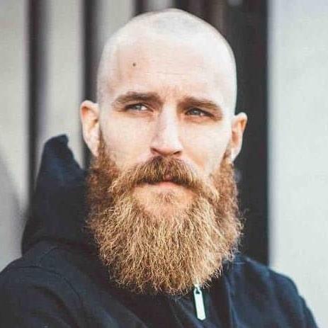 Chauve barbe longue