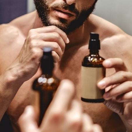 Produit soin barbe huile