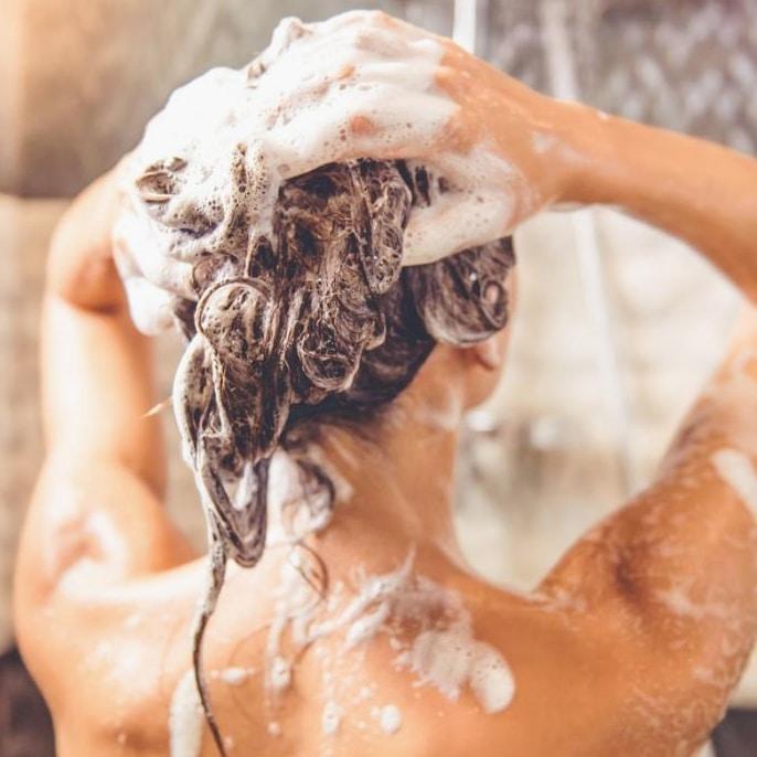 Shampoing après coloration végétale