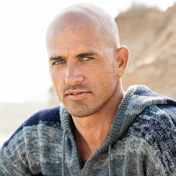 Star chauve Kelly Slater