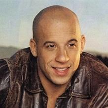 Star chauve Vin Diesel
