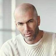 Star chauve Zinedine Zidane