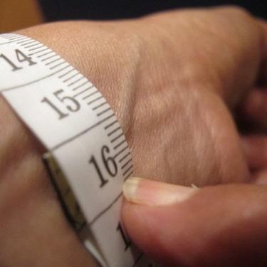 Taille montre mesurer poignet