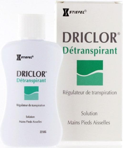 Anti transpirant Driclor Détranspirant