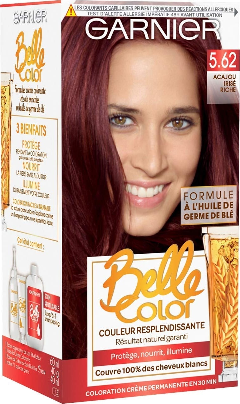 Coloration Garnier Belle Color