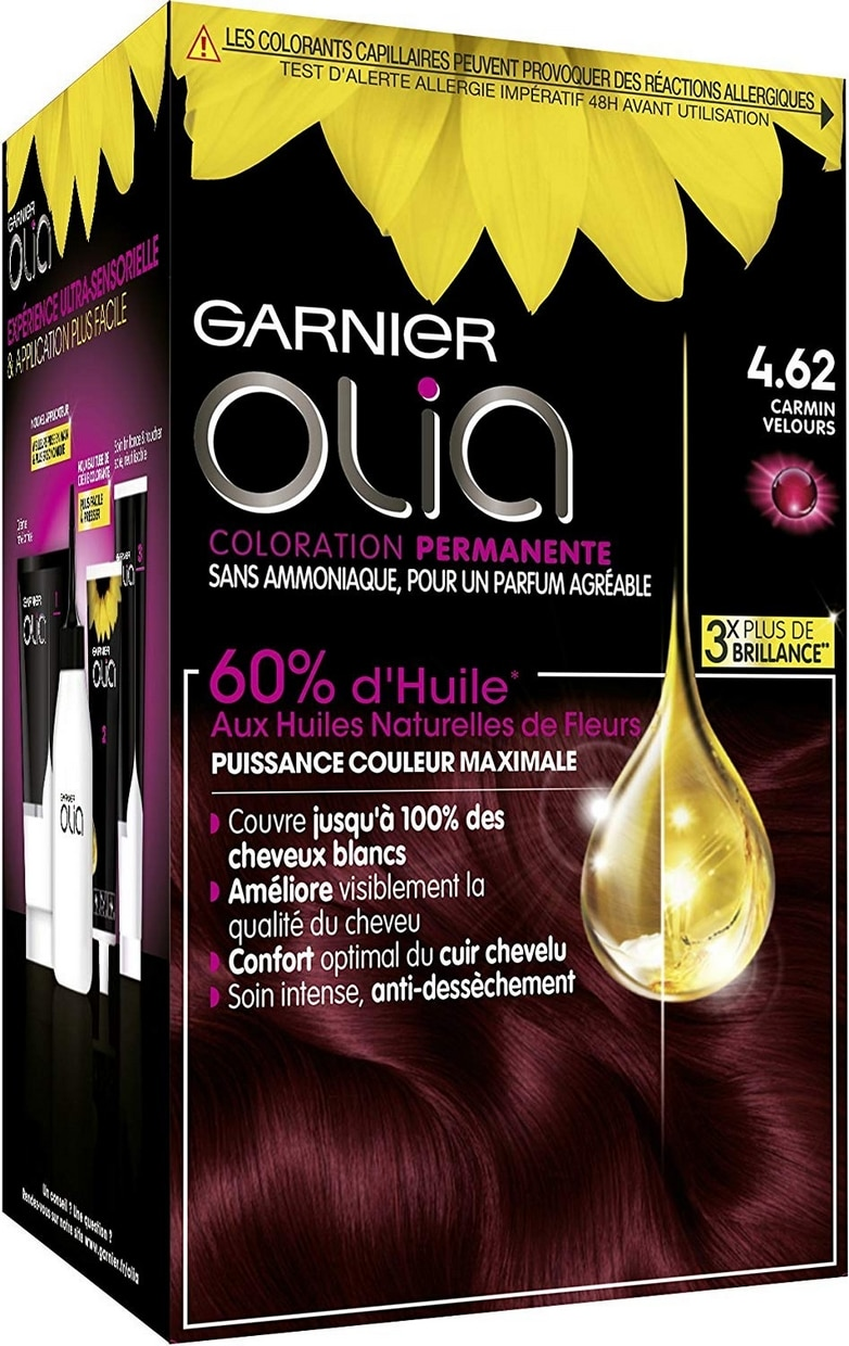 Coloration Garnier Olia