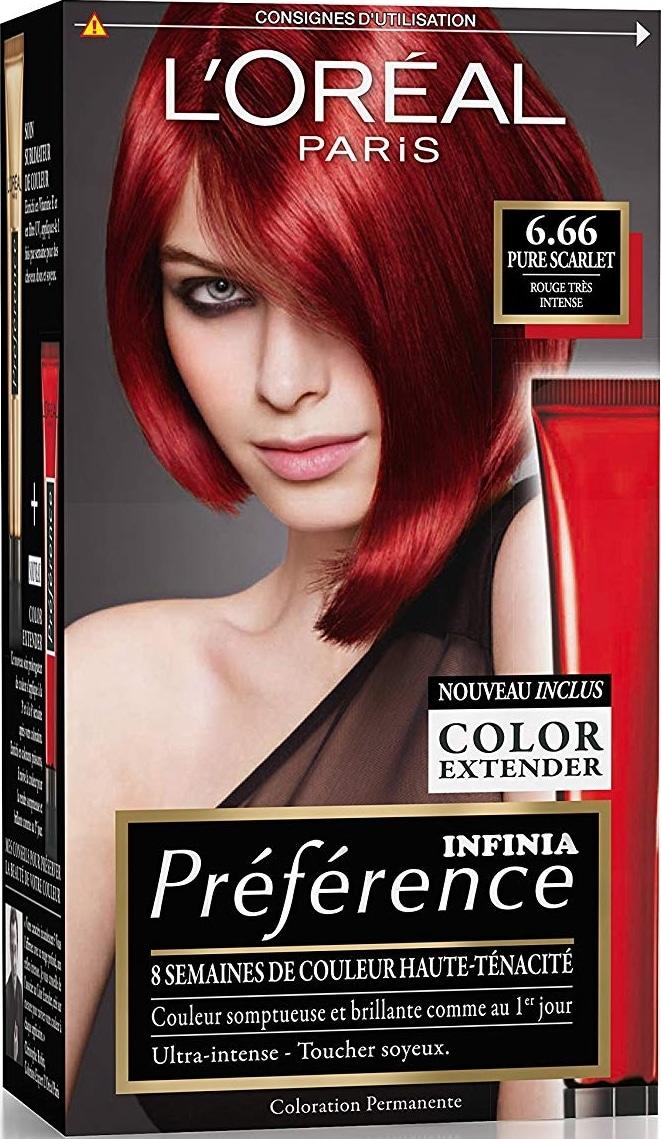 Teinture cheveux 6 66
