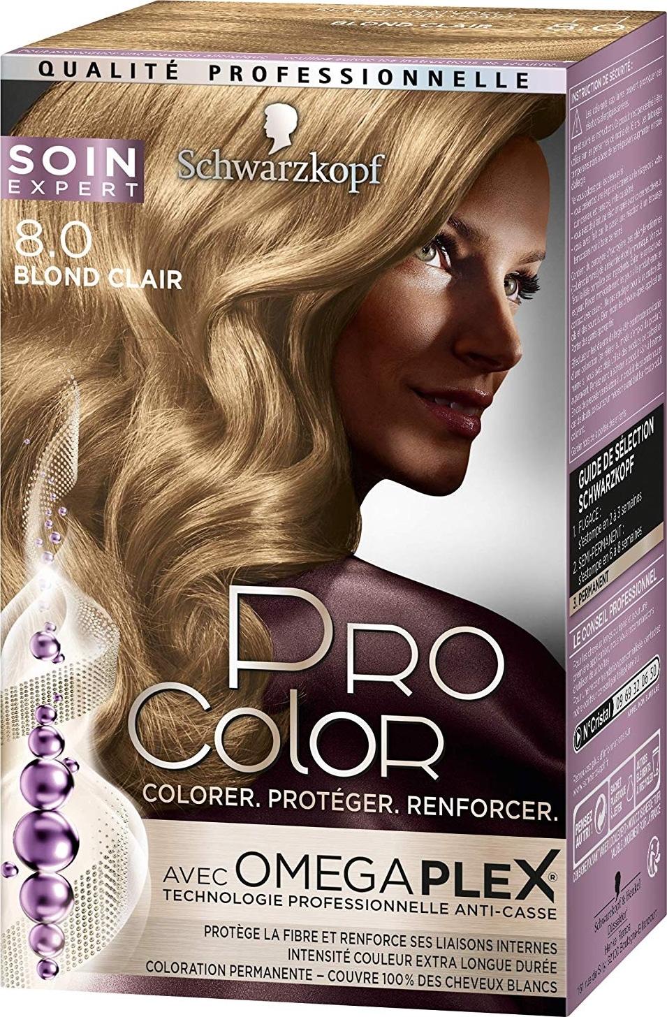 Coloration Schwarzkopf Pro Color