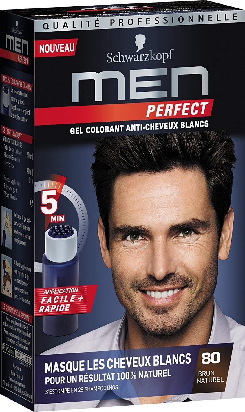 Coloration cheveux homme Men Perfect Schwarzkopf