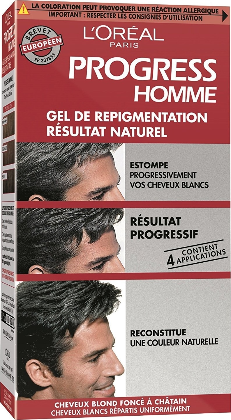Coloration cheveux homme Progress Homme L'Oréal Paris