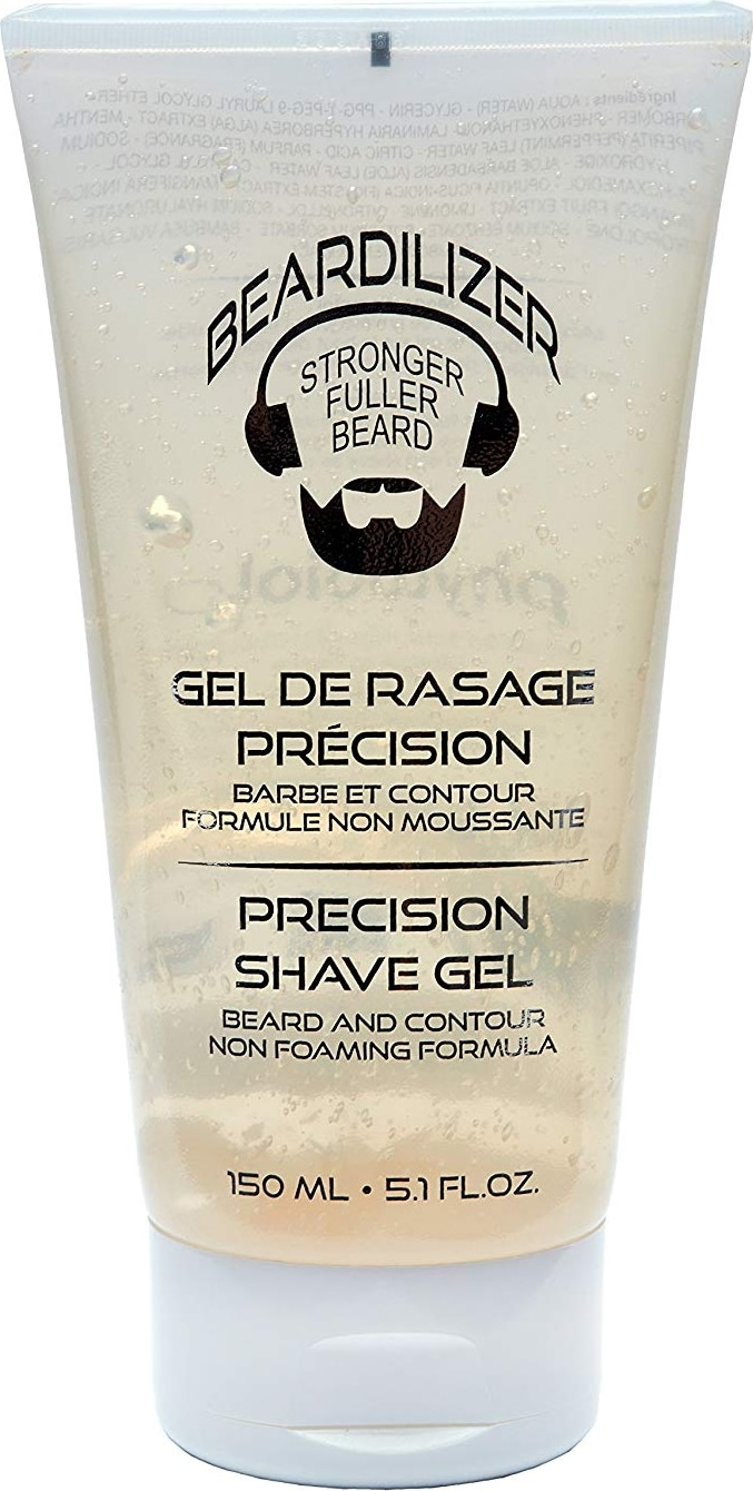 Gel de rasage transparent Beardilizer