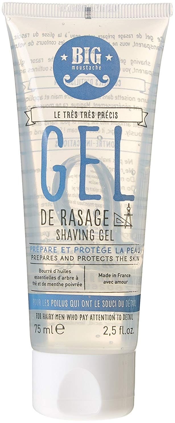 Gel de rasage transparent Big Moustache
