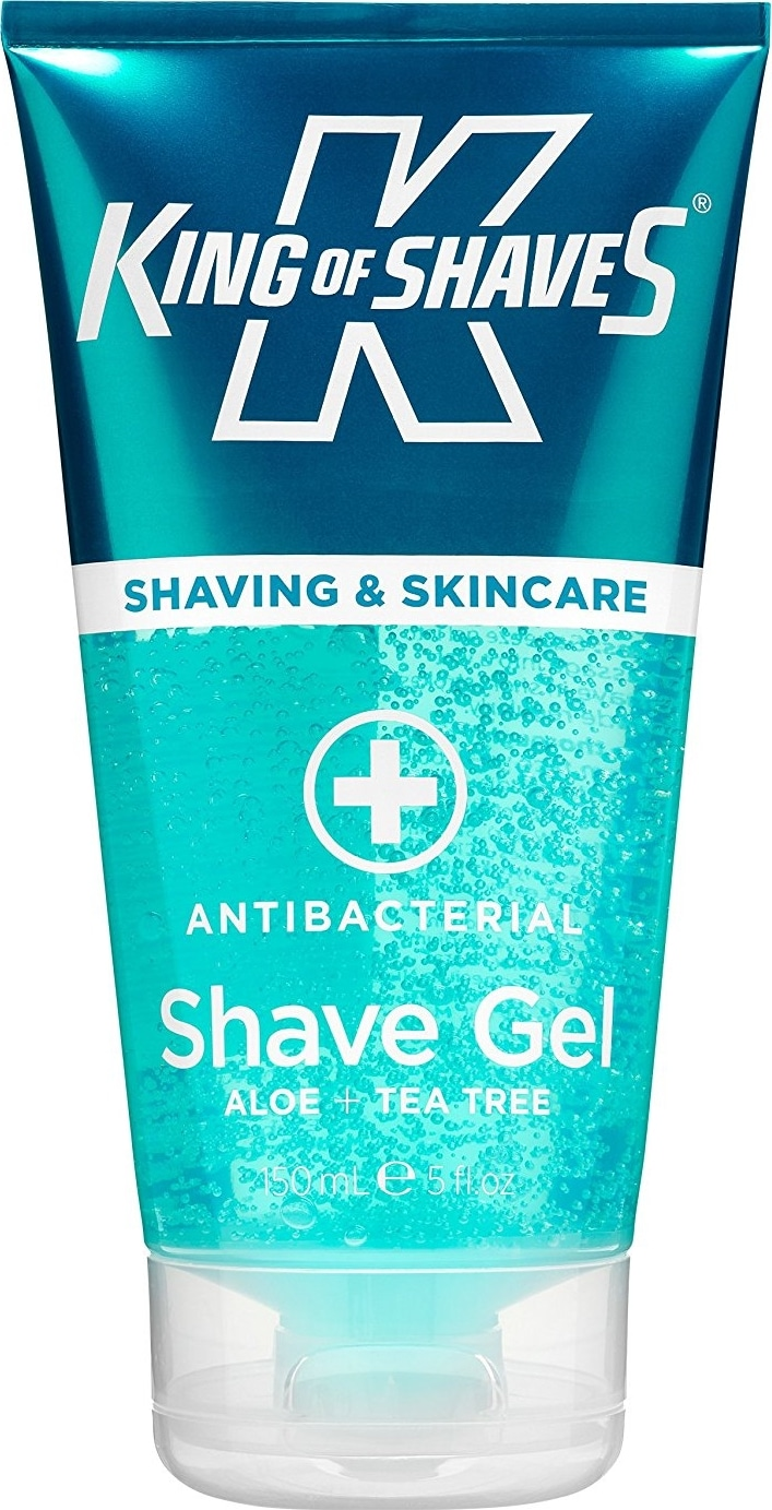 Gel de rasage transparent King of Shaves