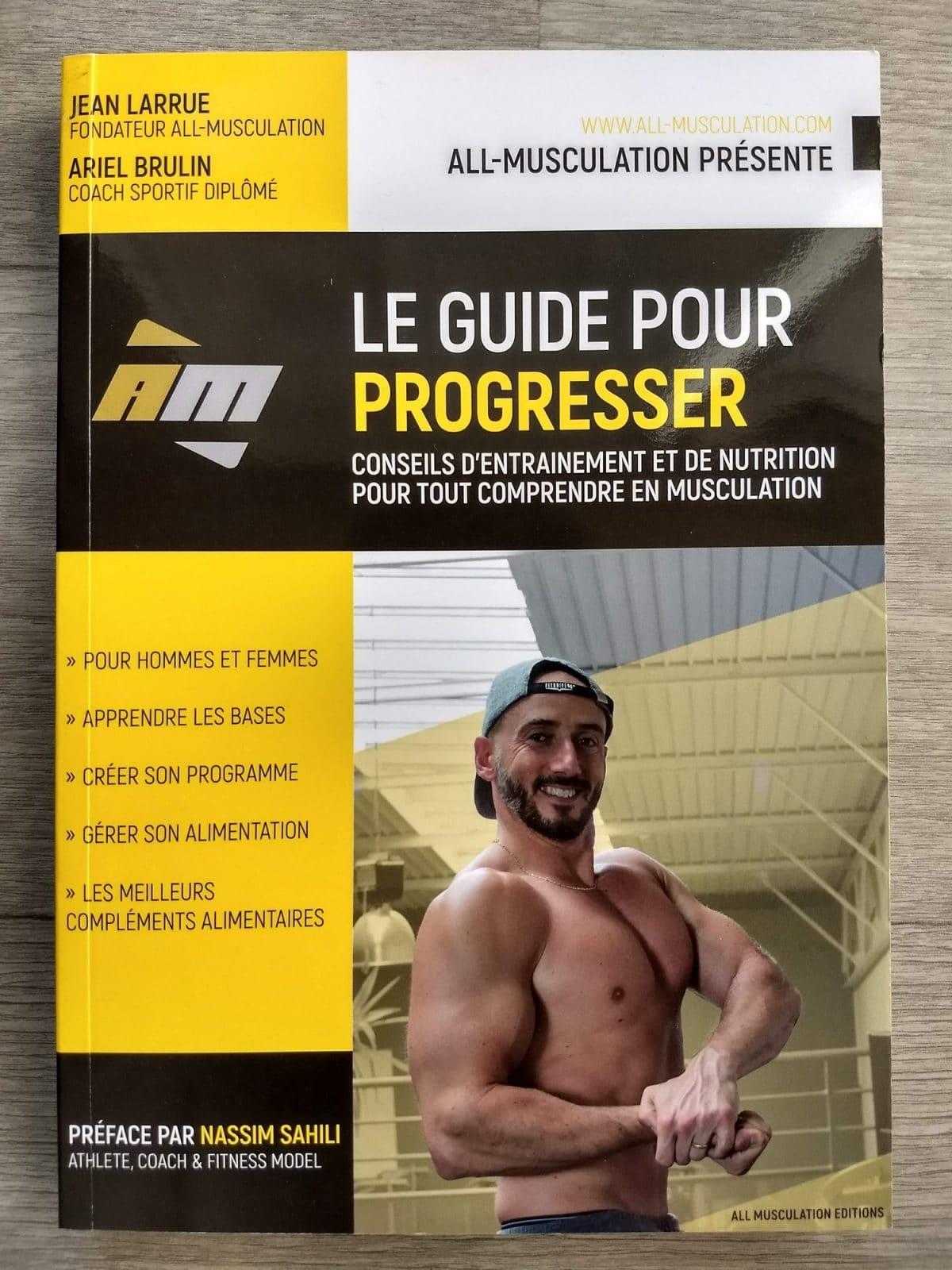 Livre Le guide pour progresser Jean Larrue All Musculation avis