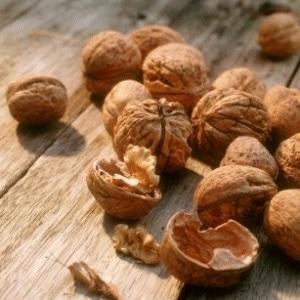 Recette coloration maison coquilles de noix